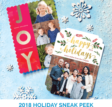 2018 HOLIDAY SNEAK PEEK