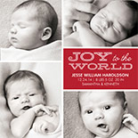 Baby's First Christmas - Holiday Photo Cards